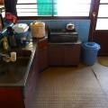 レトロな台所