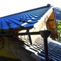 瓦屋根が美しく。。